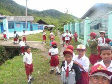 Primary school in Karo village (North Sumatra, 2011)